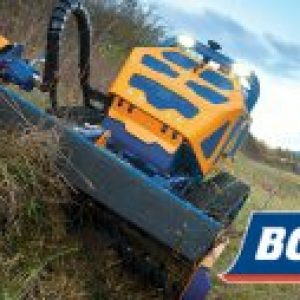 Mow Safely With The Bomford Flailbot