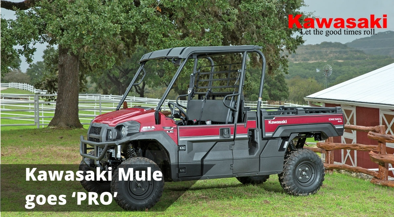 The Kawasaki Mule goes 'Pro'