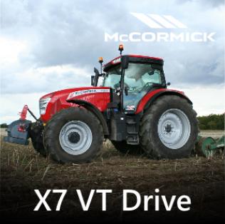 McCormick X7 VT Drive