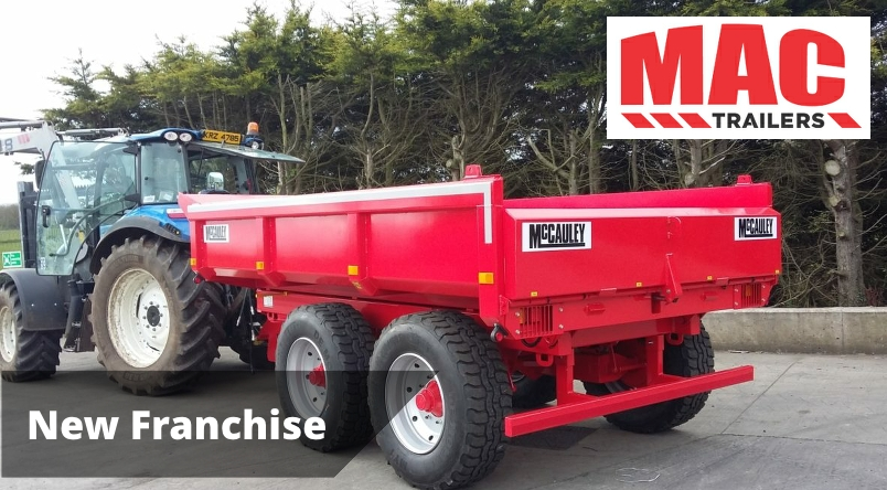 New Sales Franchise McCauley Trailers
