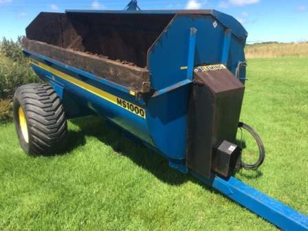 Fleming MS1000 Rotary Spreader for sale at PGF Agri, Anglesey, Wales