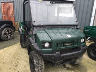 Kawasaki 4010 Mule Utility Vehicle for sale at PGF Agri, Anglesey, North Wales