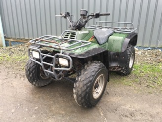 Kawasaki KLF300B Quad Bike for sale at PGF Agri, Anglesey, North Wales