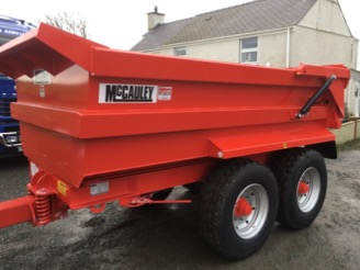 McCauley 14 Ton Dump Trailer for sale at PGF Agri, Anglesey, North Wales