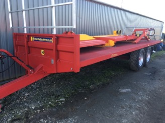 Marshall BC21 and BC25 Bale Trailers for sale at PGF Agri, Anglesey, North Wales
