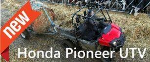 New Honda Pioneer Utility Vehicle
