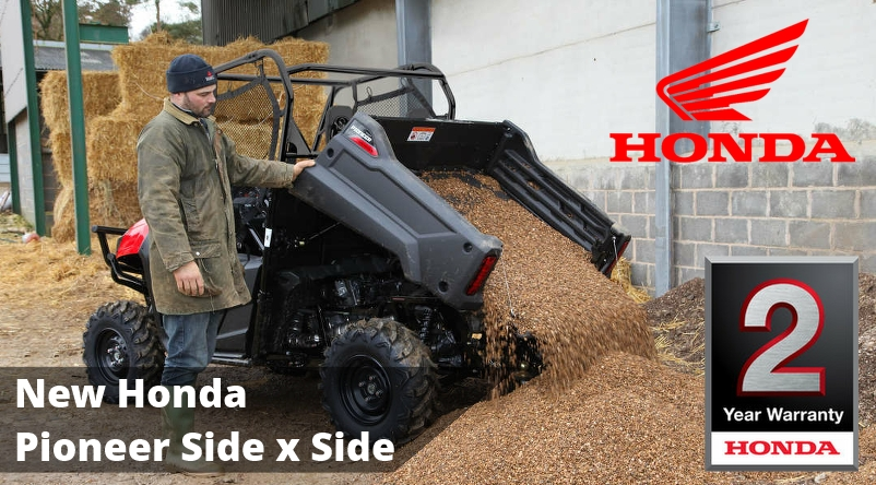 new honda pioneer utility vehicle