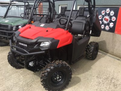 Honda Pioneer SXS 700 M2 Utility Vehicle for sale at PGF Agri Ltd, Anglesey, North Wales