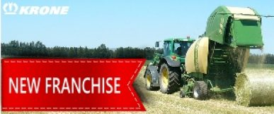 New sales franchise – Krone Farm Machinery