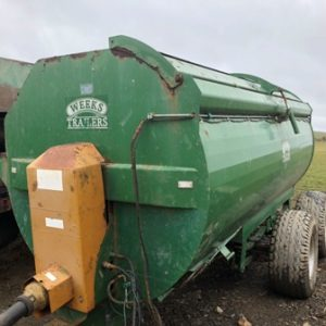 Weeks 10.5 Cube Rotary Spreader for sale at PGF Agri Ltd, Anglesey, North Wales, LL71 7AG