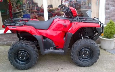 Honda Fourtrax TRX420FM2 quad bike