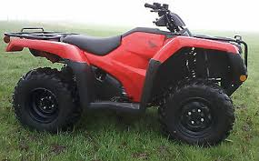 Honda Fourtrax TRX420 FA2 Quad Bike