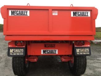 McCauley 14 Ton Dump Trailer