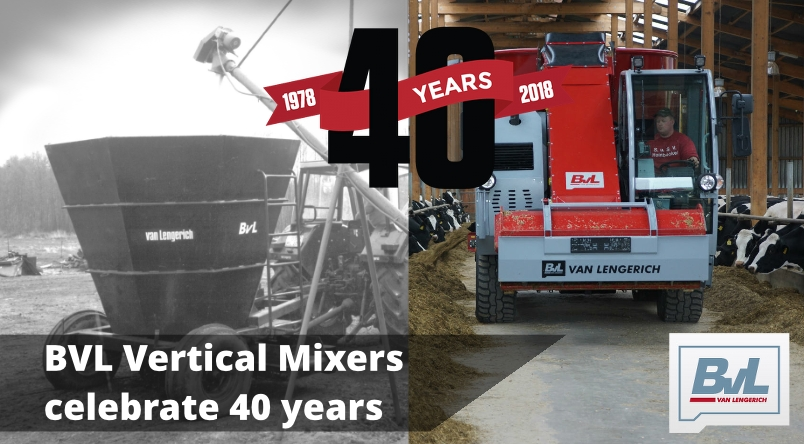 BVL Vertical Mixers celebrate 40 years