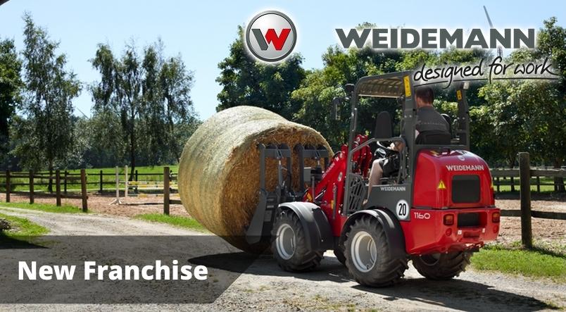 New Sales Franchise Weidemann Loaders