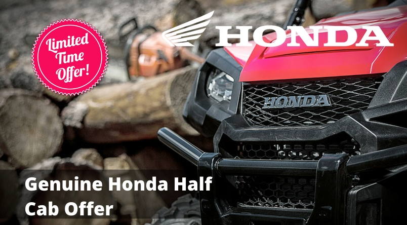 Genuine Honda Half Cab Offer