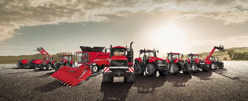 Case IH product range