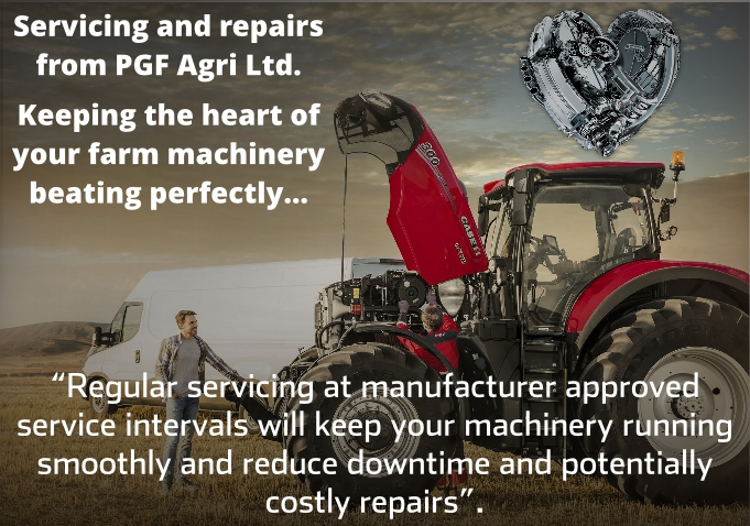 Case Tractor Servicing and Repairs frm PGF Agri Ltd