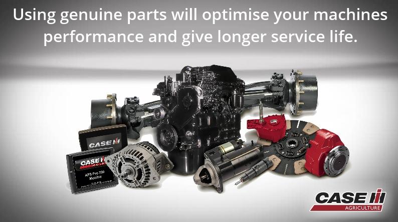 Case Tractors genuine parts
