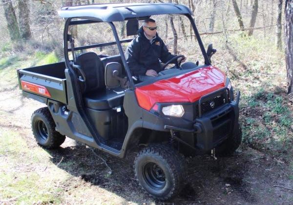 Kioti Mechron K9 Utility Vehicle