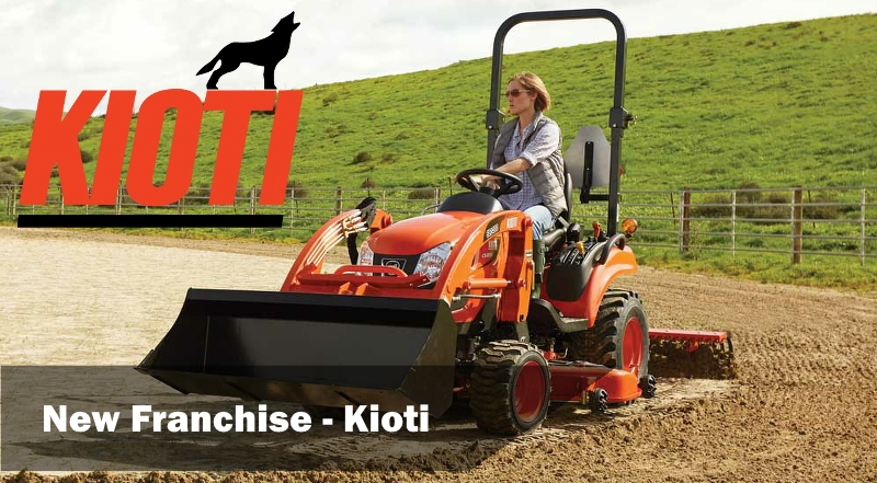 PGF Agri now Kioti Tractor Dealers