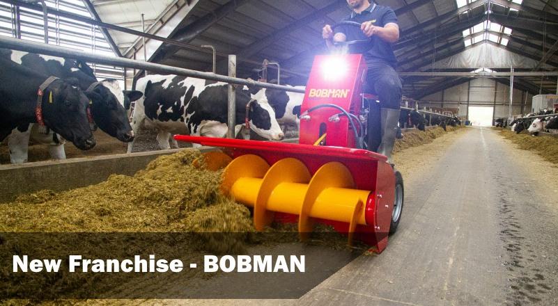 PGF Agri now Supply Bobman Sawdust Dispensers